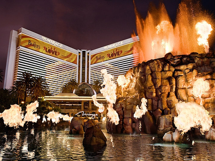 an overview of the mirage resorts company in las vegas of united states of america